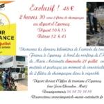 Vivre les derniers kilomètres de l'arrivée du tour de France à Epernay