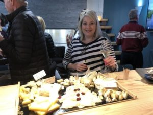 Accord fromage champagne, touriste australienne