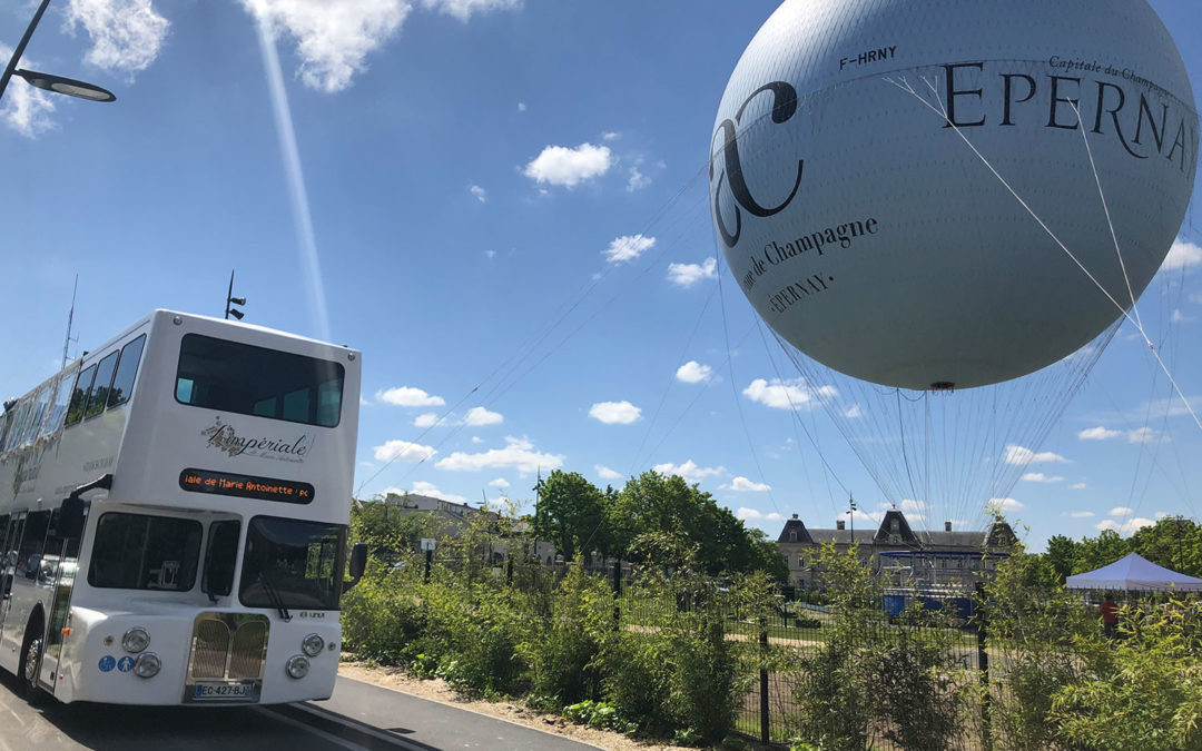 Le ballon captif – Epernay – 1 an déjà