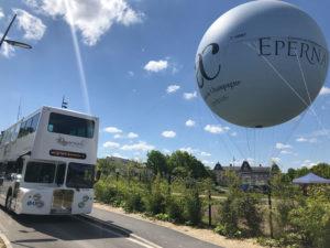 Epernay ballon captif, visite, nouveau